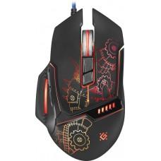 52480 Defender Проводная игровая мышь Kill'em All GM-480L оптика,8кнопок,3200dpi