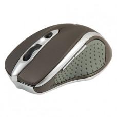 52678 Defender Беспроводная оптическая мышь Safari MM-675 коричневый,6кнопок,800-1600dpi USB