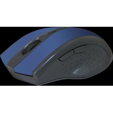 52667 Defender Беспроводная оптическая мышь Accura MM-665 синий,6 кнопок,800-1200 dpi