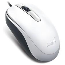 31010105102 Мышь Genius DX-120 White, оптическая, 1000 dpi, 3 кнопки, USB