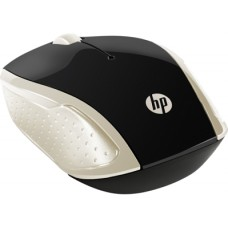 2HU83AA#ABB HP 200 Silk Gold Wireless Mouse