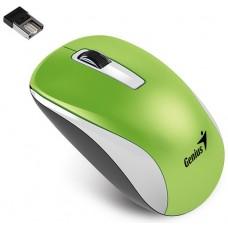 31030114108 Мышь Genius NX-7010 Green беспроводная, оптическая USB (2.4Ghz, 1200dpi, BlueEye)