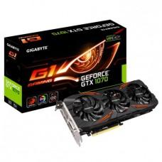 GV-N1070G1 GAMING-8GD Видеокарта PCI-E GIGABYTE GeForce GTX 1070 8GB