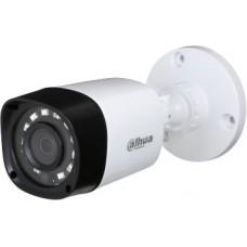DH-HAC-HFW1220RMP-0360B Камера видеонаблюдения Dahua 3.6-3.6мм цветная корп.:белый