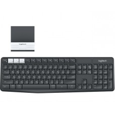 920-008184 Клавиатура Logitech K375s Multi-Device with Stand Combo Graphite/Offwhite